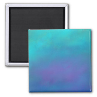 Dreamy Blues Abstract Design Magnet