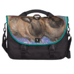 Dreamy Bunnies in Fantasy Land Colorful Computer Bag