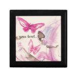 dreamy butterfly especie cajas de joyas