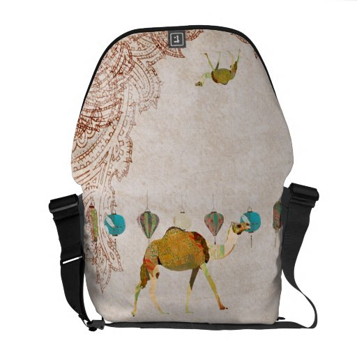 Dreamy Camel Messenger Bag
