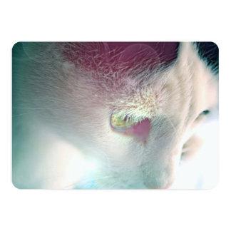 Dreamy Cat Portrait Card