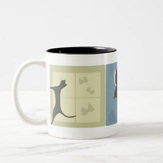 Dreamy Cats mug