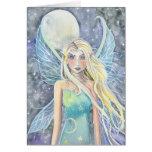 Dreamy Celestial Fairy Card by Molly Harrison