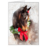Dreamy Christmas Horse Greeting Cards