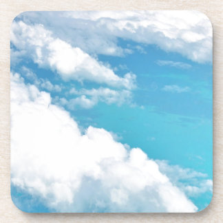 Dreamy Cloud above the caribbeans Drink Coaster