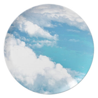 Dreamy Cloud above the caribbeans Plates