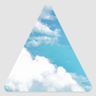 Dreamy Cloud above the caribbeans Stickers