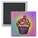 Dreamy Cupcake magnet