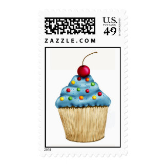 Dreamy Cupcake Postage Stamps