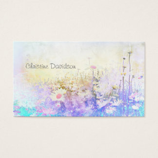 Dreamy daisies business card