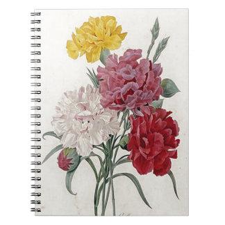 Dreamy Dianthus Spiral Notebook