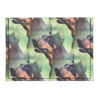 Dreamy Doberman Pinscher Face Painting Tyvek® Card Case Wallet