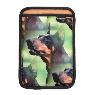 Dreamy Doberman Pinscher Face Painting iPad Mini Sleeve