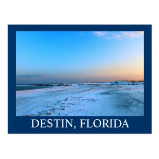 Dreamy evening in Destin, Florida Postcard
