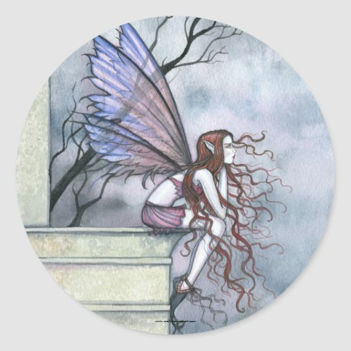 Dreamy Fairy Stickers by Molly Harrison