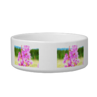 Dreamy Fireweed; No Text Bowl