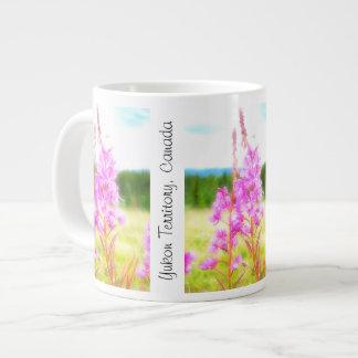 Dreamy Fireweed; Yukon Territory Souvenir Giant Coffee Mug
