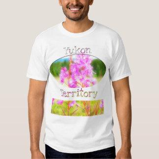 Dreamy Fireweed; Yukon Territory Souvenir T-shirt