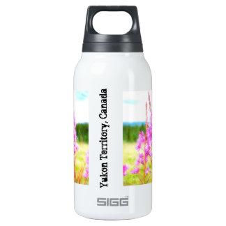 Dreamy Fireweed; Yukon Territory Souvenir Thermos Water Bottle
