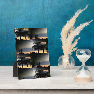 Dreamy Florida Sunset Photo Plaques