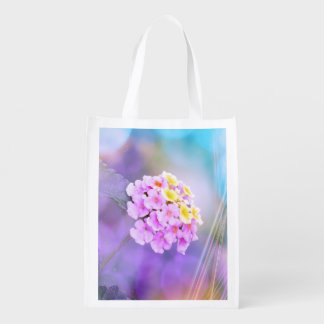 Dreamy Flower Grocery Bags