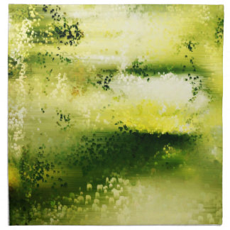 Dreamy Flowers In The Rain 2 - Paintings Napkins