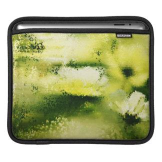 Dreamy Flowers In The Rain - Paintings iPad sleeve