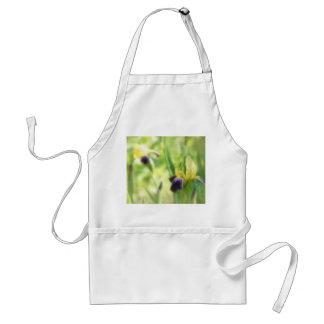 Dreamy Garden Irises Adult Apron