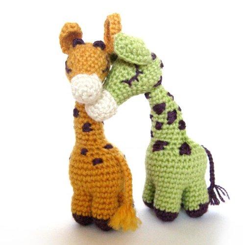 Free Crochet Giraffe Applique Pattern