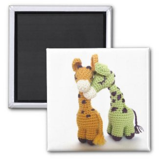 Giraffe Afghan, Pillow and Toy Pattern Crochet Pattern Giraffe