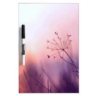 dreamy girly floral nature photo lovely art decor dry erase whiteboard