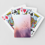 dreamy girly floral nature photo lovely art decor poker cards