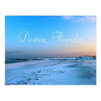 Dreamy in Destin Florida Postcard