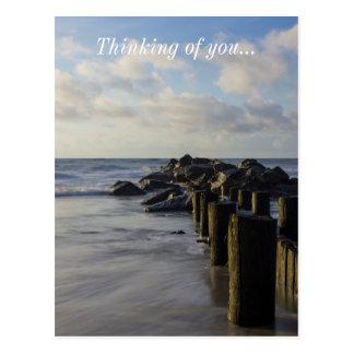 Dreamy Jettie Postcard