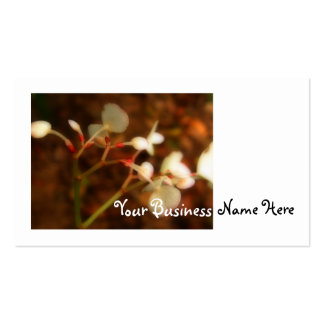 Dreamy Jungle Flowers Business Card
