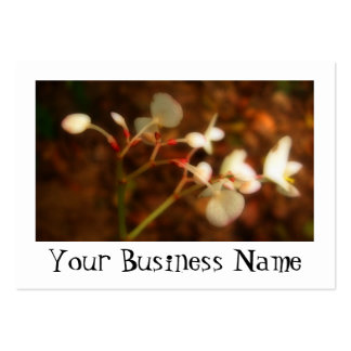 Dreamy Jungle Flowers Large Business Card