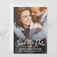 Dreamy Love EDITABLE COLOR Save The Date Cards