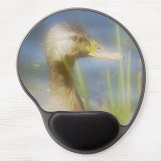 Dreamy Mallard Duck Gel Mouse Pad