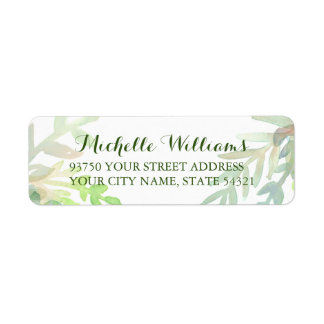 Dreamy Meadow Return Address Labels