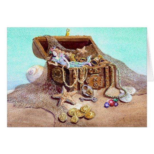 DREAMY MERMAID by SHARON SHARPE Card