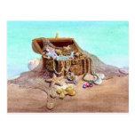 DREAMY MERMAID by SHARON SHARPE Postcard