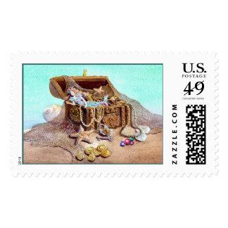 DREAMY MERMAID by SHARON SHARPE Stamp
