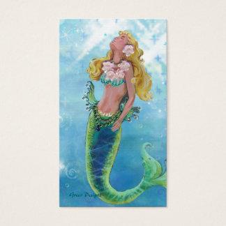 Dreamy Mermaid Siren Business/Profile Cards