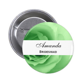 Dreamy Mint Green Rose Premium Wedding Collection Pin