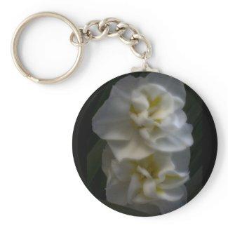 Dreamy Narcissus Daffodils zazzle_keychain