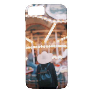Dreamy NYC Brooklyn Merry Go Round Girl iPhone 7 Case