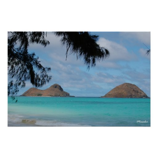 Dreamy Ocean Poster