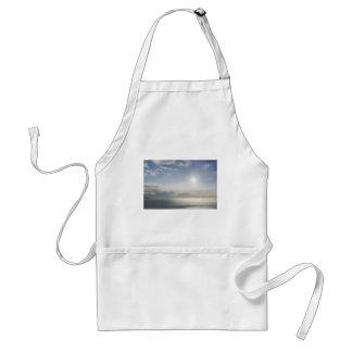 Dreamy ocean view. adult apron