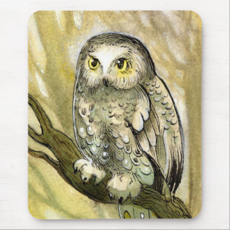 Dreamy Owl Mouse Pad