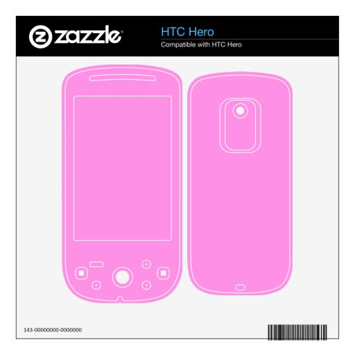 Dreamy Pink Skins For HTC Hero